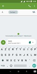 Alcatel 1 - Contact, Appels, SMS/MMS - Envoyer un MMS - Étape 9