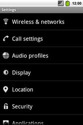 Alcatel OT-991 Smart - Internet - Usage across the border - Step 4