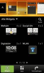 HTC Desire X - Startanleitung - Installieren von Widgets und Apps auf der Startseite - Schritt 4