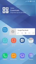 Samsung Galaxy A5 (2017) - Android Nougat - Startanleitung - Installieren von Widgets und Apps auf der Startseite - Schritt 9
