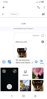 Alcatel 1S (2020) - Contact, Appels, SMS/MMS - Envoyer un MMS - Étape 21