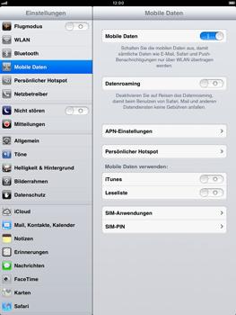 Apple iPad mini - Ausland - Auslandskosten vermeiden - 7 / 7