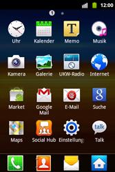 Samsung Galaxy Xcover - Ausland - Im Ausland surfen – Datenroaming - 5 / 12