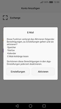 Huawei P9 Plus - E-Mail - Konto einrichten (outlook) - 5 / 12