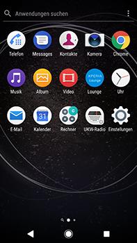 Sony Xperia XA2 Ultra - Anrufe - Rufumleitungen setzen und löschen - Schritt 3