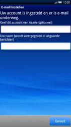 Sony Xperia X10 - E-mail - Handmatig instellen - Stap 11