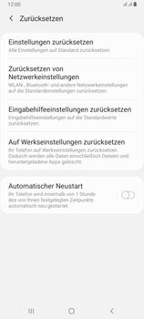 Samsung Galaxy A80 - Fehlerbehebung - Handy zurücksetzen - Schritt 8