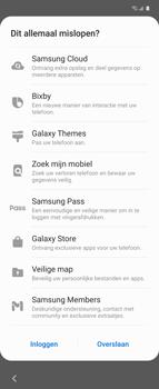 Samsung Galaxy Z Flip Single-SIM + eSIM (SM-F700F) - Instellingen aanpassen - Nieuw toestel instellen - Stap 31