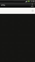 HTC One S - Internet - Apn-Einstellungen - 1 / 1