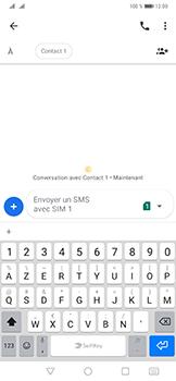 Huawei Mate 20 Pro - Contact, Appels, SMS/MMS - Envoyer un SMS - Étape 6