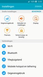 Samsung G925F Galaxy S6 Edge - Internet - Mobiele data uitschakelen - Stap 4