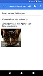 Sony Xperia XZ Premium - Android Oreo - E-mail - e-mail versturen - Stap 15