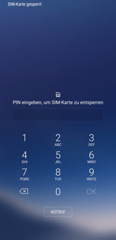 Samsung Galaxy S8 - Internet - Apn-Einstellungen - 1 / 1