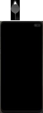 Samsung galaxy-s10-plus-dual-sim-sm-g975f - Instellingen aanpassen - SIM-Kaart plaatsen - Stap 2