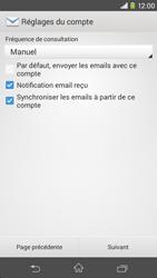 Sony Xperia M2 (D2303) - E-mail - Configuration manuelle - Étape 16