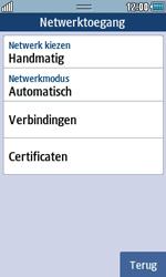 Samsung S5250 Wave 525 - Internet - handmatig instellen - Stap 7