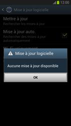 Samsung Galaxy S III - Logiciels - Installation de mises à jour - Étape 10