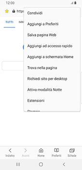 Samsung Galaxy S9 - Android Pie - Internet e roaming dati - Uso di Internet - Fase 21