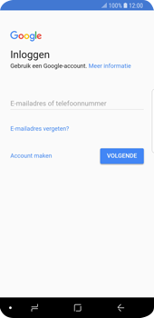 Samsung Galaxy S9 (SM-G960F) - Applicaties - Account aanmaken - Stap 4