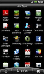 HTC Desire HD - MMS - Manuelle Konfiguration - 3 / 18