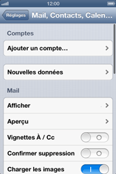 Apple iPhone 4S - E-mail - Configuration manuelle - Étape 4