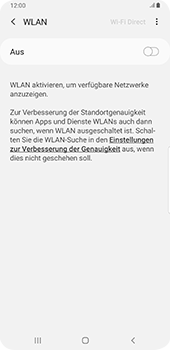 Samsung Galaxy Note9 - Android Pie - WiFi - WiFi-Konfiguration - Schritt 6