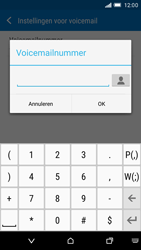 HTC One M9 - voicemail - handmatig instellen - stap 9
