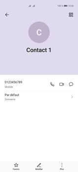 Huawei P40 Pro - Contact, Appels, SMS/MMS - Ajouter un contact - Étape 9