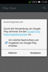 Alcatel OT-4009D Pixi 3 (3.5) - Apps - Konto anlegen und einrichten - Schritt 19