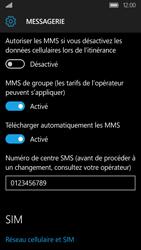 Acer Liquid M330 - SMS - configuration manuelle - Étape 8