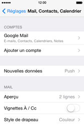 Apple iPhone 4S iOS 7 - E-mail - 032a. Email wizard - Gmail - Étape 11
