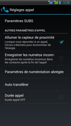 HTC Desire 516 - Messagerie vocale - Configuration manuelle - Étape 5