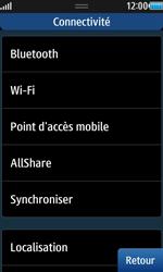 Samsung Wave 2 - Internet et connexion - Accéder au réseau Wi-Fi - Étape 5