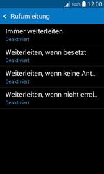 Samsung Galaxy Trend 2 Lite - Anrufe - Rufumleitungen setzen und löschen - 7 / 11