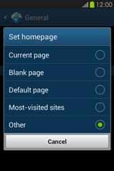 Samsung S6810P Galaxy Fame - Internet - Manual configuration - Step 23
