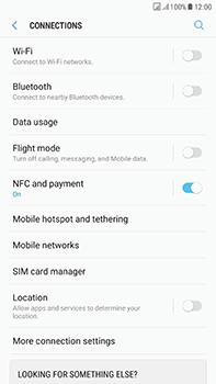 Samsung Galaxy J7 (2017) - Network - Enable 4G/LTE - Step 5