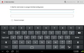 Samsung Galaxy Tab 2 10-1 - E-Mail - Konto einrichten - 1 / 1