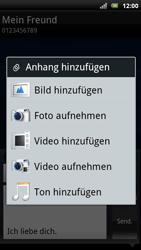 Sony Ericsson Xperia Arc S - MMS - Erstellen und senden - 16 / 20