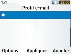 Samsung S3350 Chat 335 - E-mail - Configuration manuelle - Étape 7