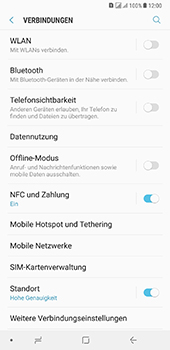 Samsung Galaxy A8 Plus (2018) - WLAN - Manuelle Konfiguration - 5 / 10