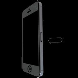 Apple iPhone 5 mit iOS 7 - SIM-Karte - Einlegen - Schritt 2