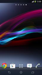 Sony Xperia Z1 Compact - Operazioni iniziali - Installazione di widget e applicazioni nella schermata iniziale - Fase 3