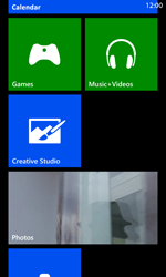 Nokia Lumia 925 - Getting started - Personalising your Start screen - Step 10