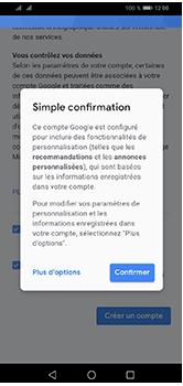 Huawei Y5 (2019) - Applications - Créer un compte - Étape 17