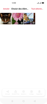 Oppo Reno 4Z - Photos, vidéos, musique - Envoyer une photo via Bluetooth - Étape 10