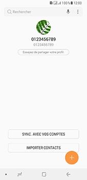 Samsung Galaxy A8 - Contact, Appels, SMS/MMS - Ajouter un contact - Étape 5