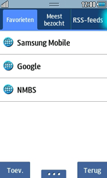 Samsung S5250 Wave 525 - Internet - Internetten - Stap 10