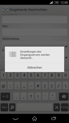 Sony D5803 Xperia Z3 Compact - E-Mail - Konto einrichten - Schritt 11
