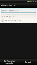 HTC S728e One X Plus - E-mail - Configuration manuelle - Étape 6