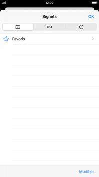 Apple iPhone 8 Plus - iOS 14 - Internet et roaming de données - Navigation sur Internet - Étape 9